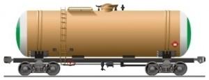 Вагон-цистерна с дизельным топливом
